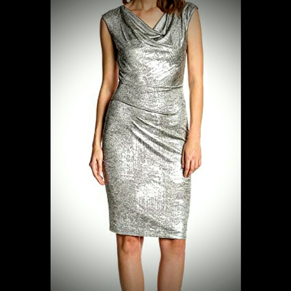 Vince Camuto Silver Dress de6dd954363e